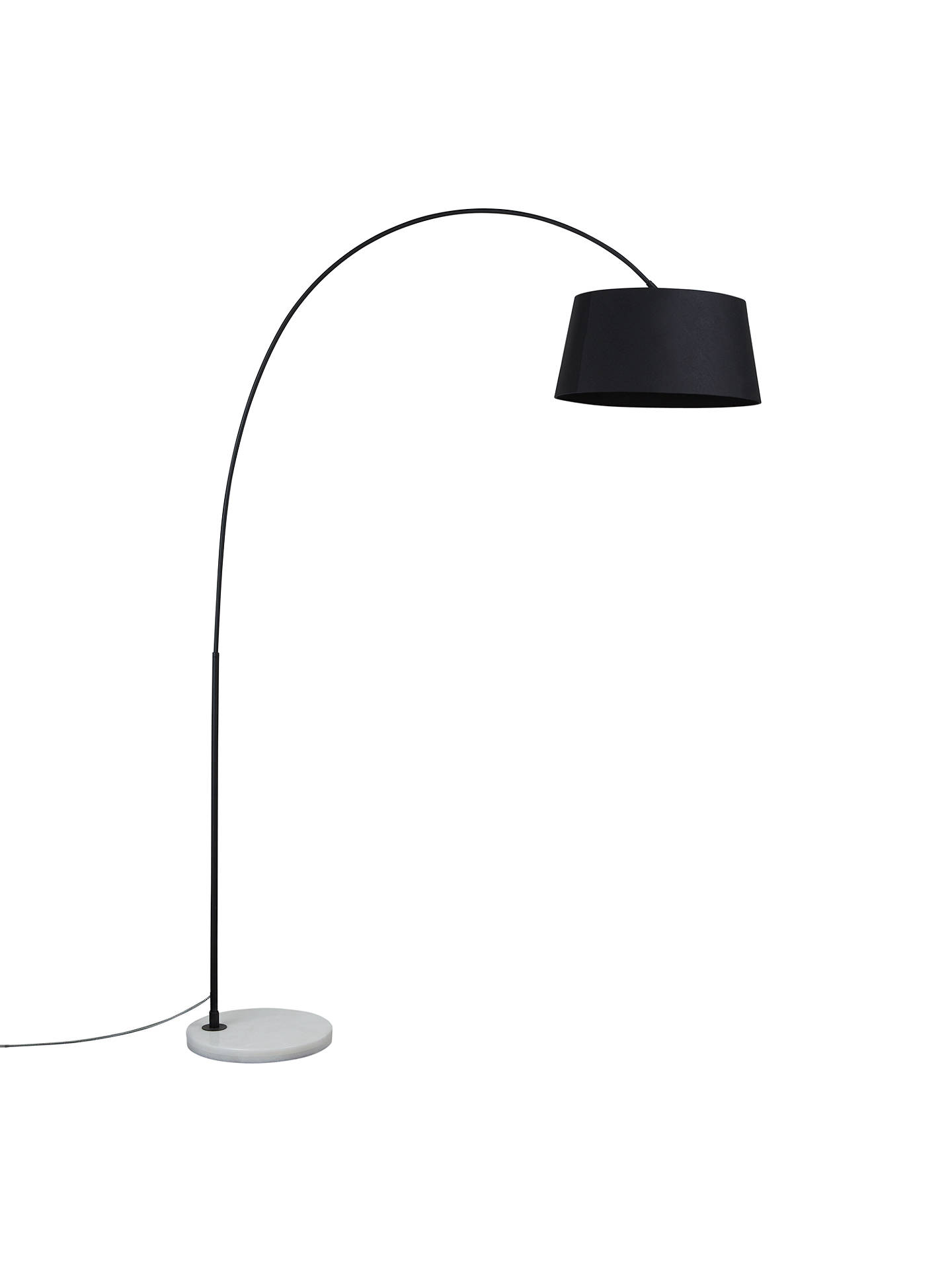 Buy Design Project by John Lewis No.168 Arched Floor Lamp, Black Online at johnlewis.com