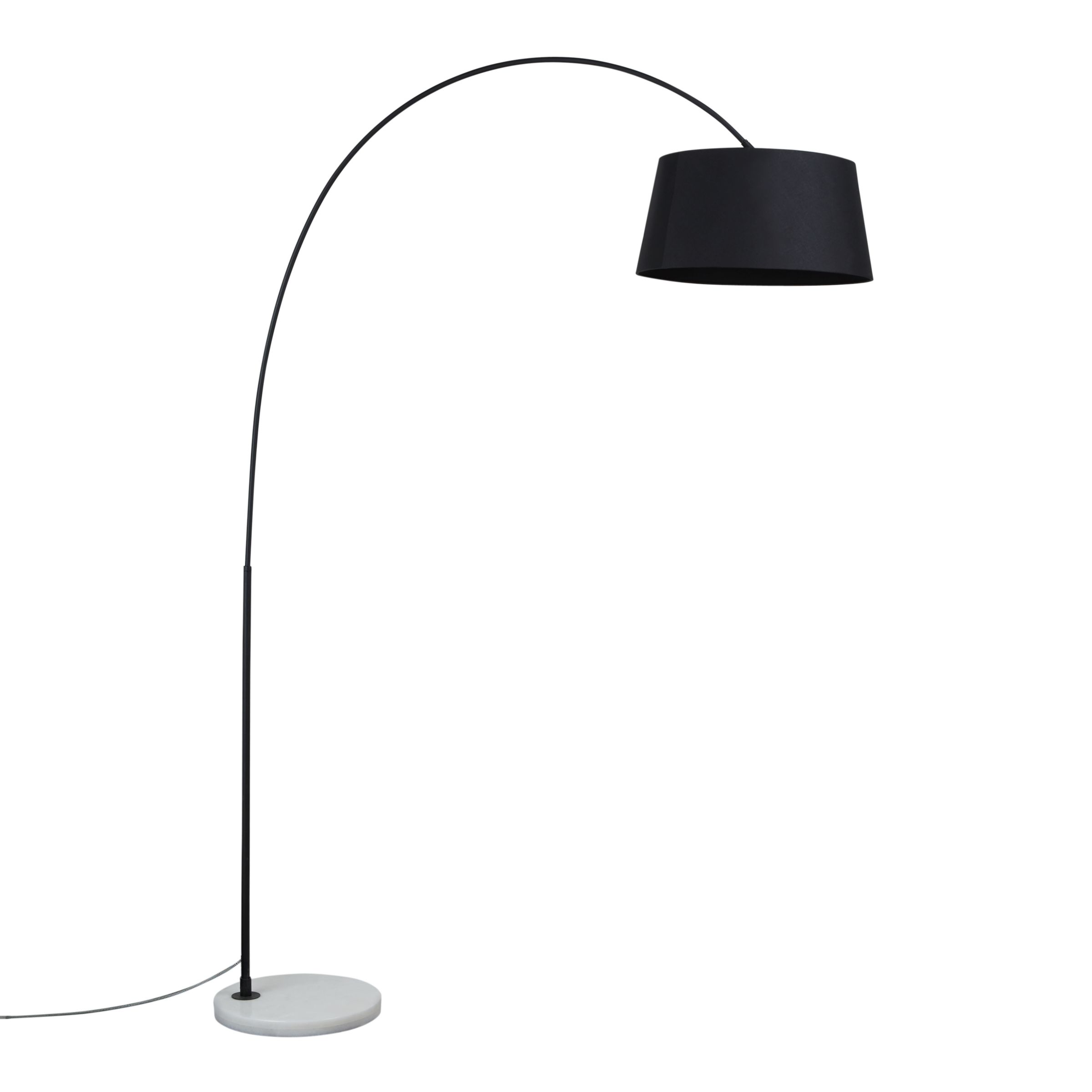 Image of: Design Project By John Lewis No 168 Arched Floor Lamp Black At John Lewis Partners