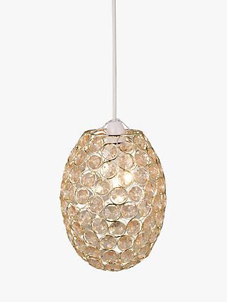 Plastic ceiling lamp shades john lewis partners john lewis partners adele easy to fit ceiling shade aloadofball Images
