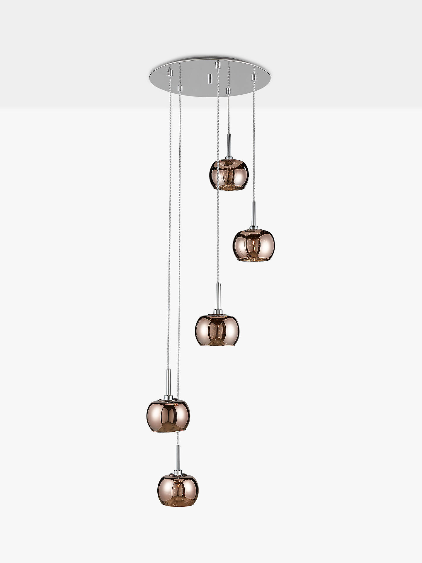 d4215d9b752 ... Buy John Lewis   Partners Stella 5 Pendant Cluster Ceiling Light