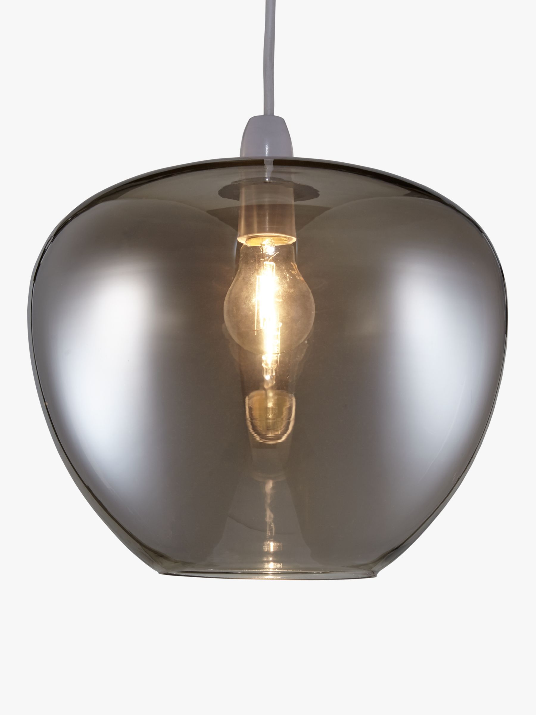 Glass Bulb Droplet Lampshade Fits John Lewis Jensen cluster light Clear
