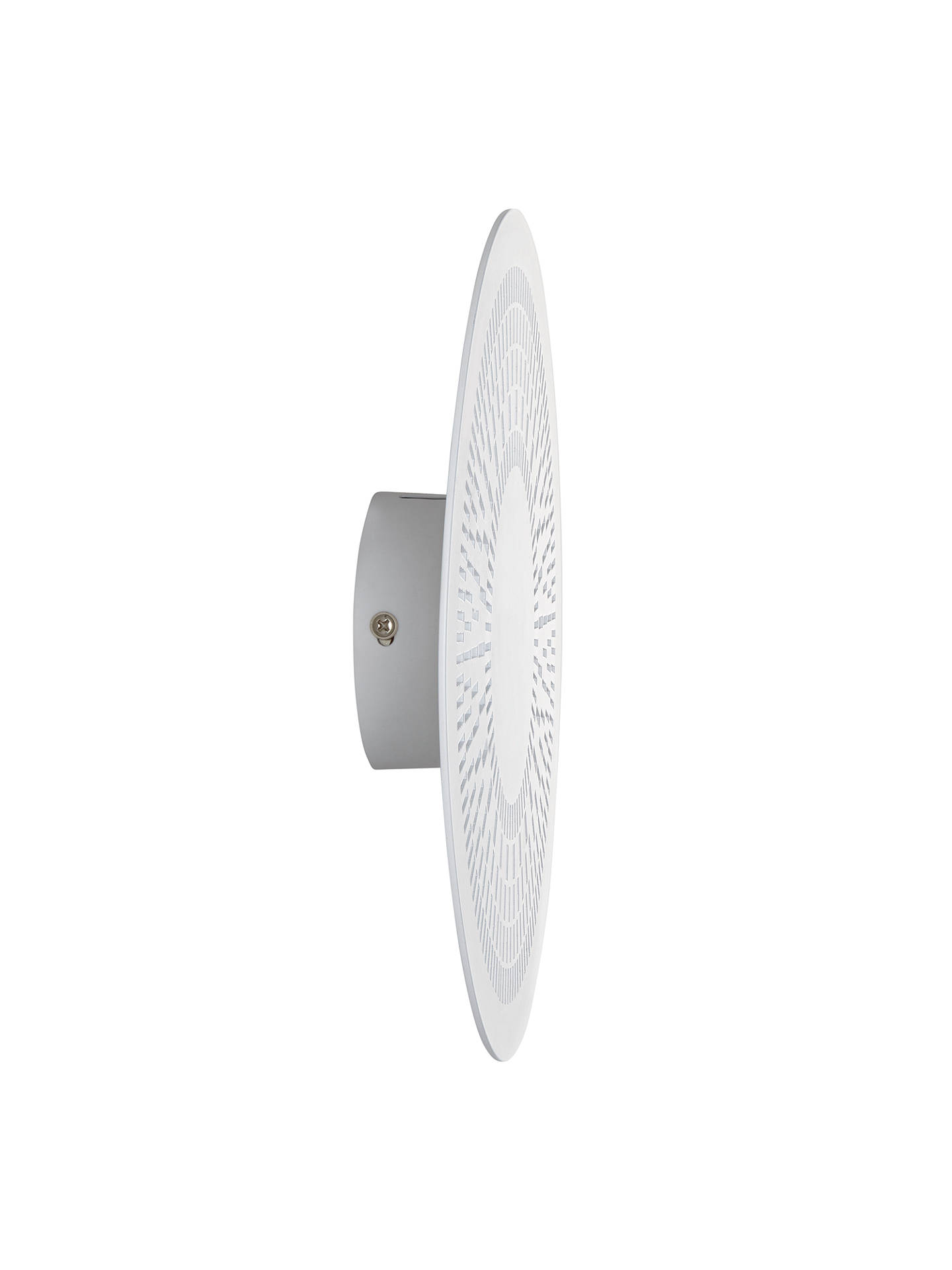 BuyJohn Lewis & Partners Casino LED Wall Light, White Online at johnlewis.com