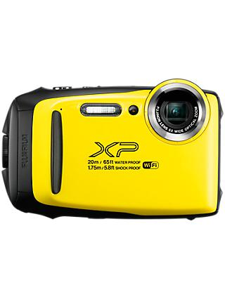 "Fujifilm XP130 Waterproof, Freezeproof, Shockproof, Dustproof Digital Compact Camera with 5-25mm OIS Lens, 1080p Full HD, 16.4MP, 5x Optical Zoom, Wi-Fi, Bluetooth, 3"" LCD Screen"