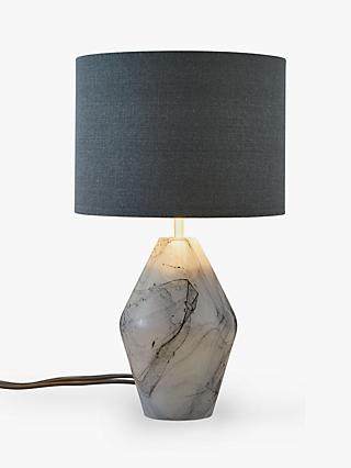 Lamps 2019 New Style Large Vintage Ornate Solid Marble Table Lamp White Marble Pineapple Lamp Cool In Summer And Warm In Winter