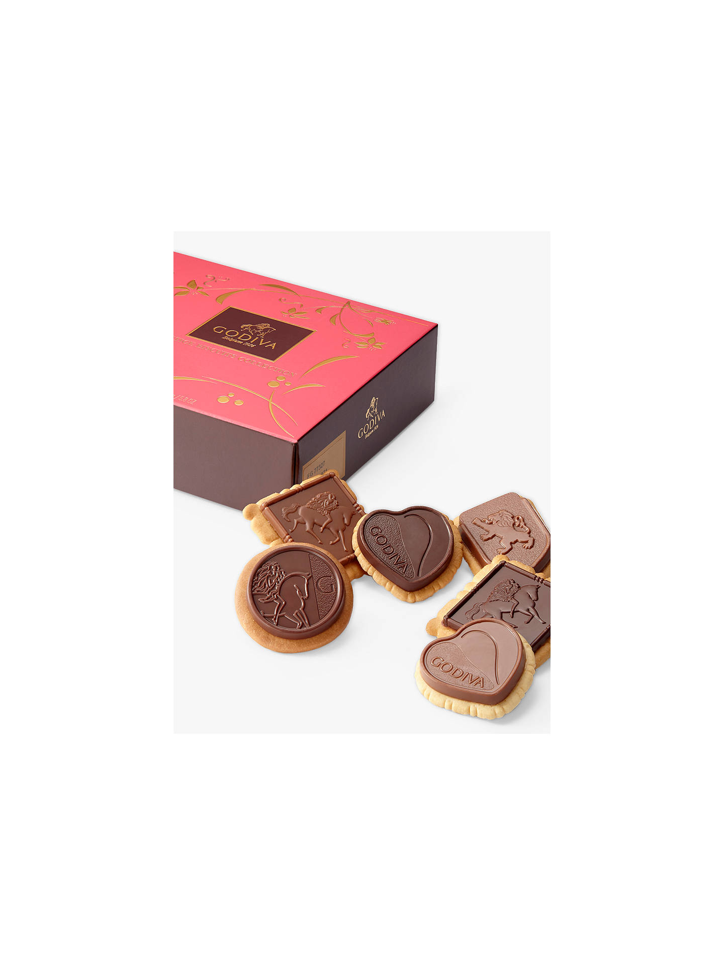 Buy Godiva Prestige Biscuits Collection, 165g Online at johnlewis.com