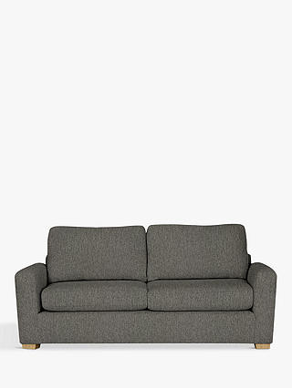 Buy House by John Lewis Oliver Large 3 Seater Sofa, Light Leg, Catrin Charcoal Online at johnlewis.com