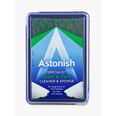 Astonish Specialist Dish & Pan Cleaner & Sponge
