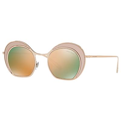 Giorgio Armani AR607347 Women's Round Sunglasses