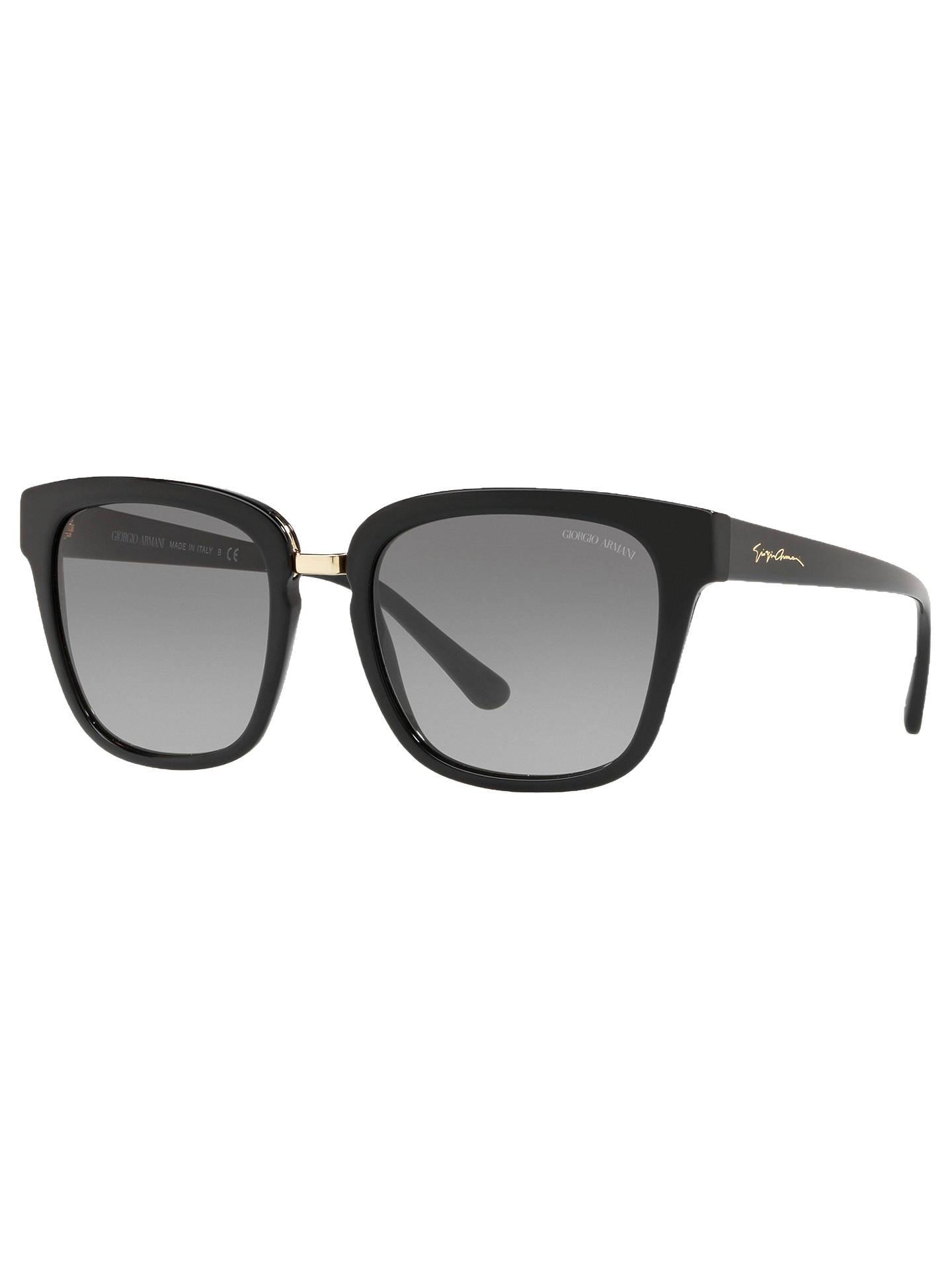34a0e59a9a85 Giorgio Armani AR8106 Women s Square Sunglasses at John Lewis   Partners