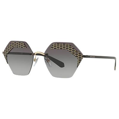 BVLGARI BV610357 Women's Hexagonal Sunglasses