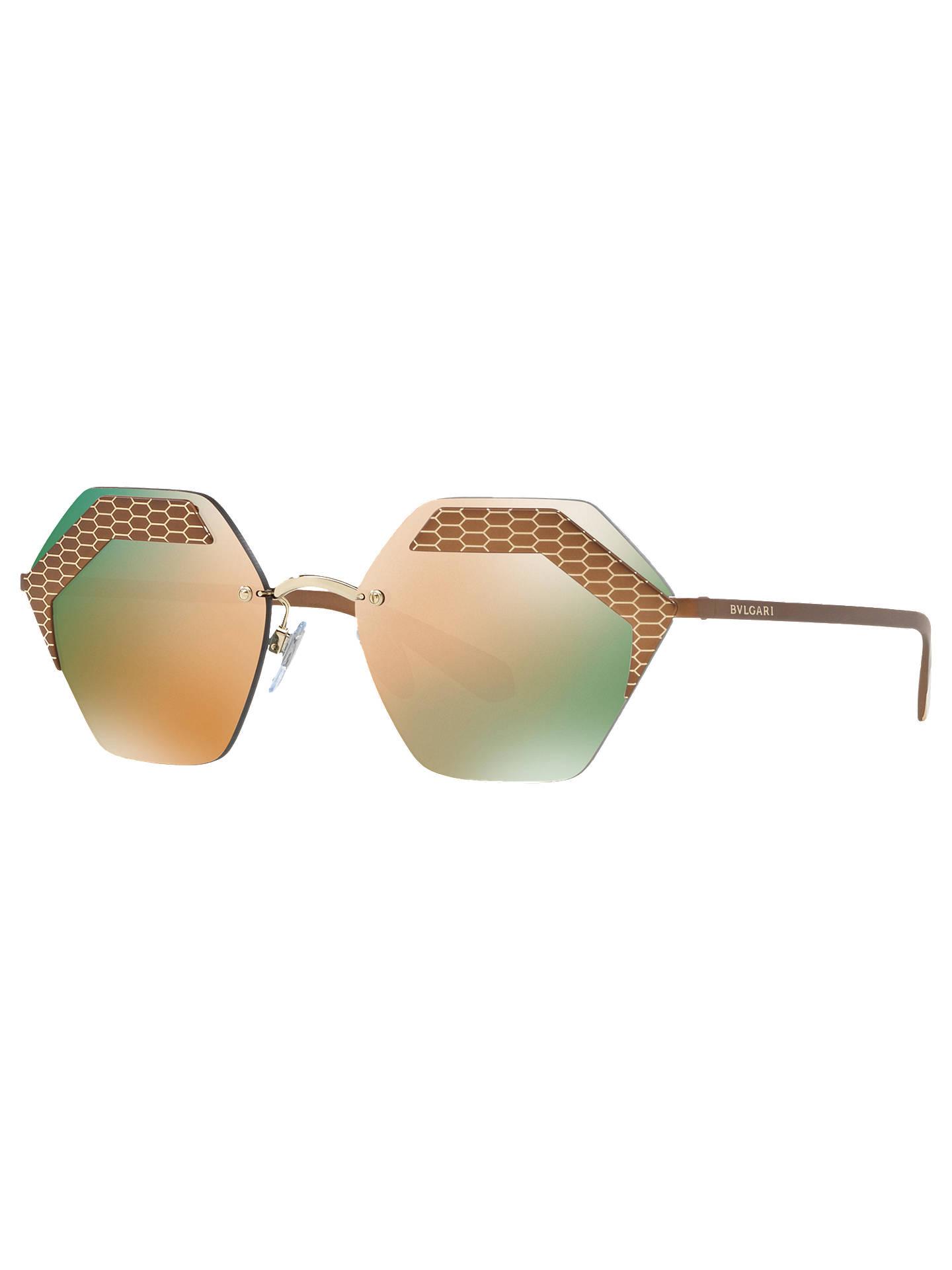 14ed16ee929 BuyBVLGARI BV610357 Women s Hexagonal Sunglasses