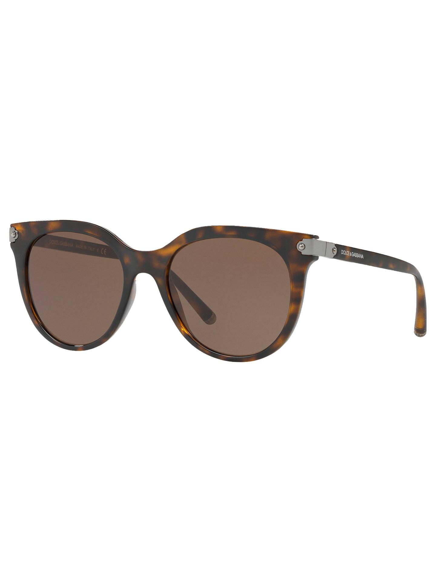 880ce24458d9 Buy Dolce & Gabbana DG6117 Women's D-Frame Sunglasses, Tortoise Brown  Online at johnlewis ...