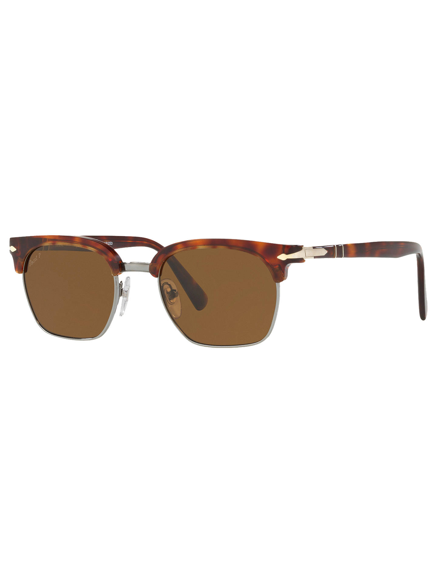 ff85cc5621a6 Persol PO3199S Polarised Unisex Square Sunglasses at John Lewis ...