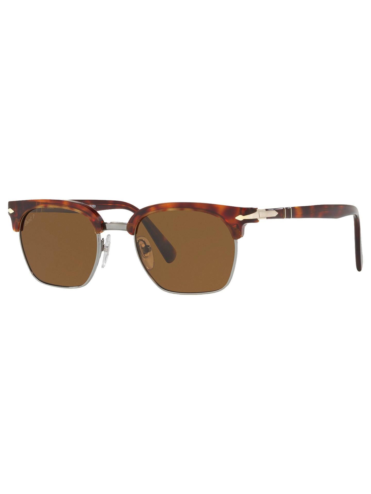 00e23d521ff9d Persol PO3199S Polarised Unisex Square Sunglasses at John Lewis ...