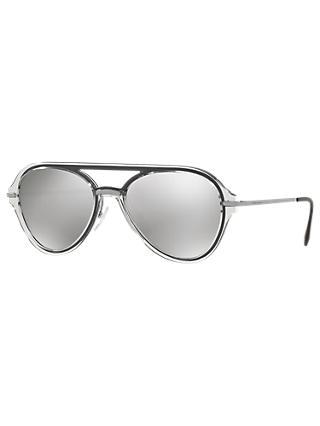 f9a289d5713 Prada 04TS 57 Men s Polarised Aviator Sunglasses