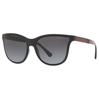 Emporio Armani EA4112 Women's Butterfly Sunglasses