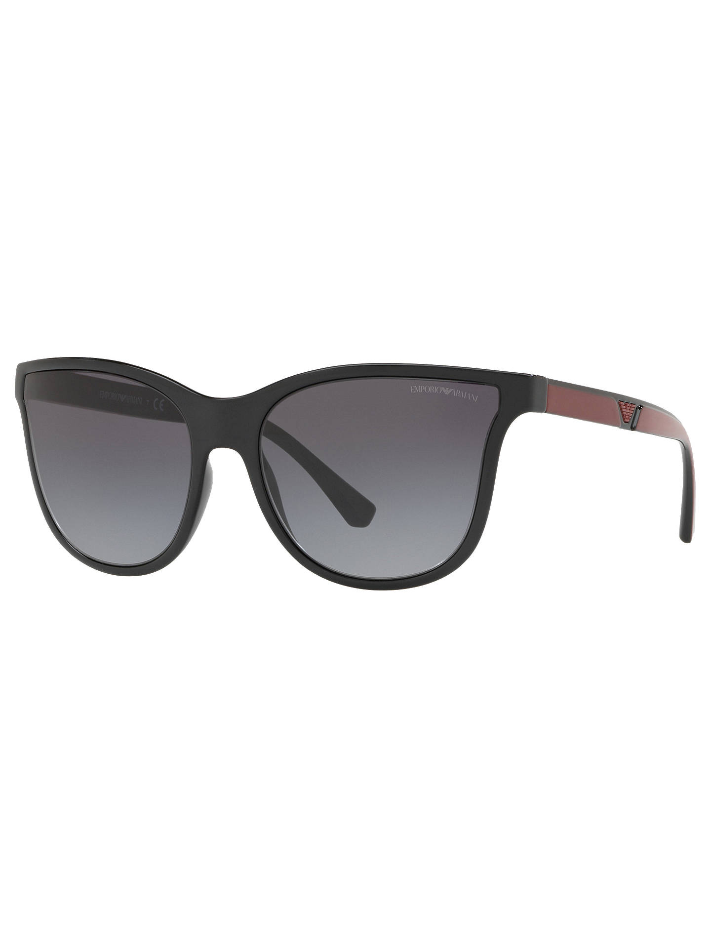 55638d8b482 Emporio Armani EA4112 Women s Butterfly Sunglasses at John Lewis ...