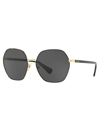 Ralph Lauren RA4124 60 Women's Geometric Sunglasses
