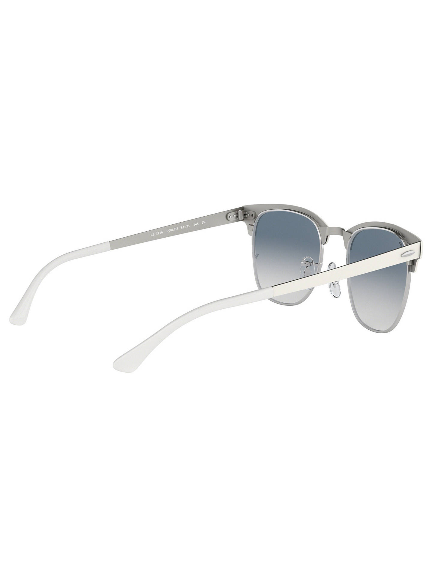 2404b8504f6 ... BuyRay-Ban RB3716 Polarised Unisex Gradient Square Sunglasses Online at  johnlewis.com ...