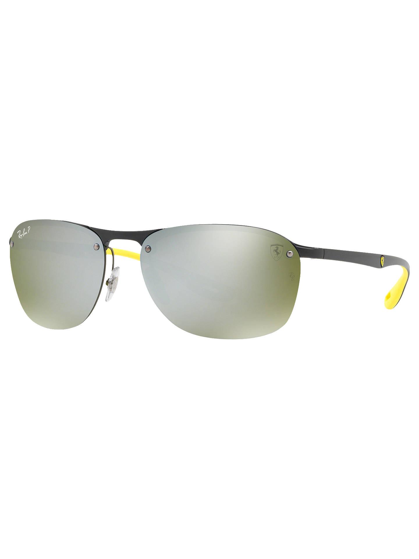 d026c9fa52 BuyRay-Ban RB4302M Men s Scuderia Ferrari Collection Polarised Oval  Sunglasses