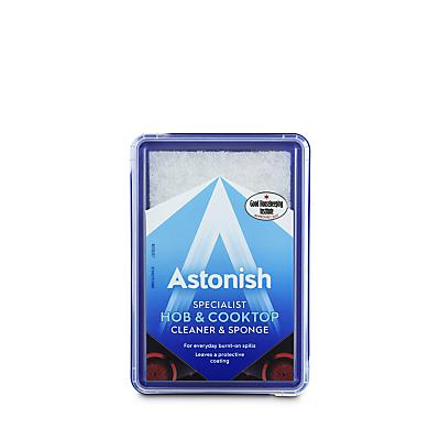 Astonish Specialist Hob & Cook Top Cleaner & Sponge