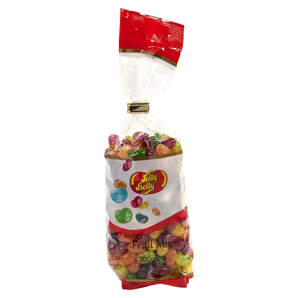 Jelly Belly Jelly Belly Fruit Mix Tie top Bag, 300g