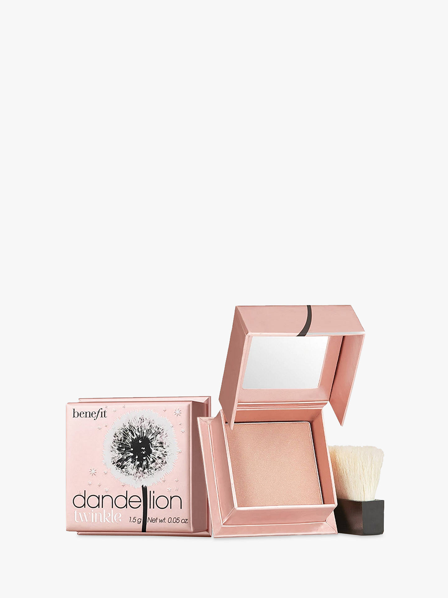 Buy Benefit Dandelion Twinkle Blusher Travel Sized Mini, 1.5g Online at johnlewis.com