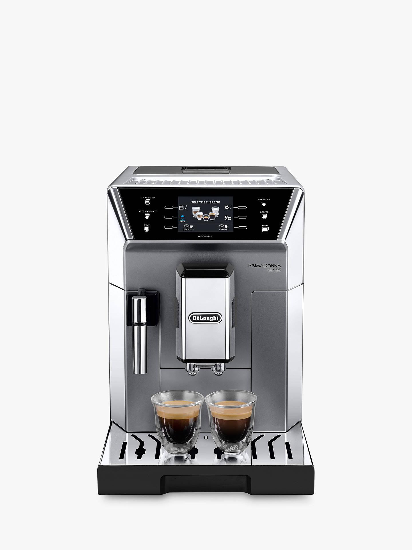 Delonghi Ecam55075ms Primadonna Bean To Cup Coffee Machine