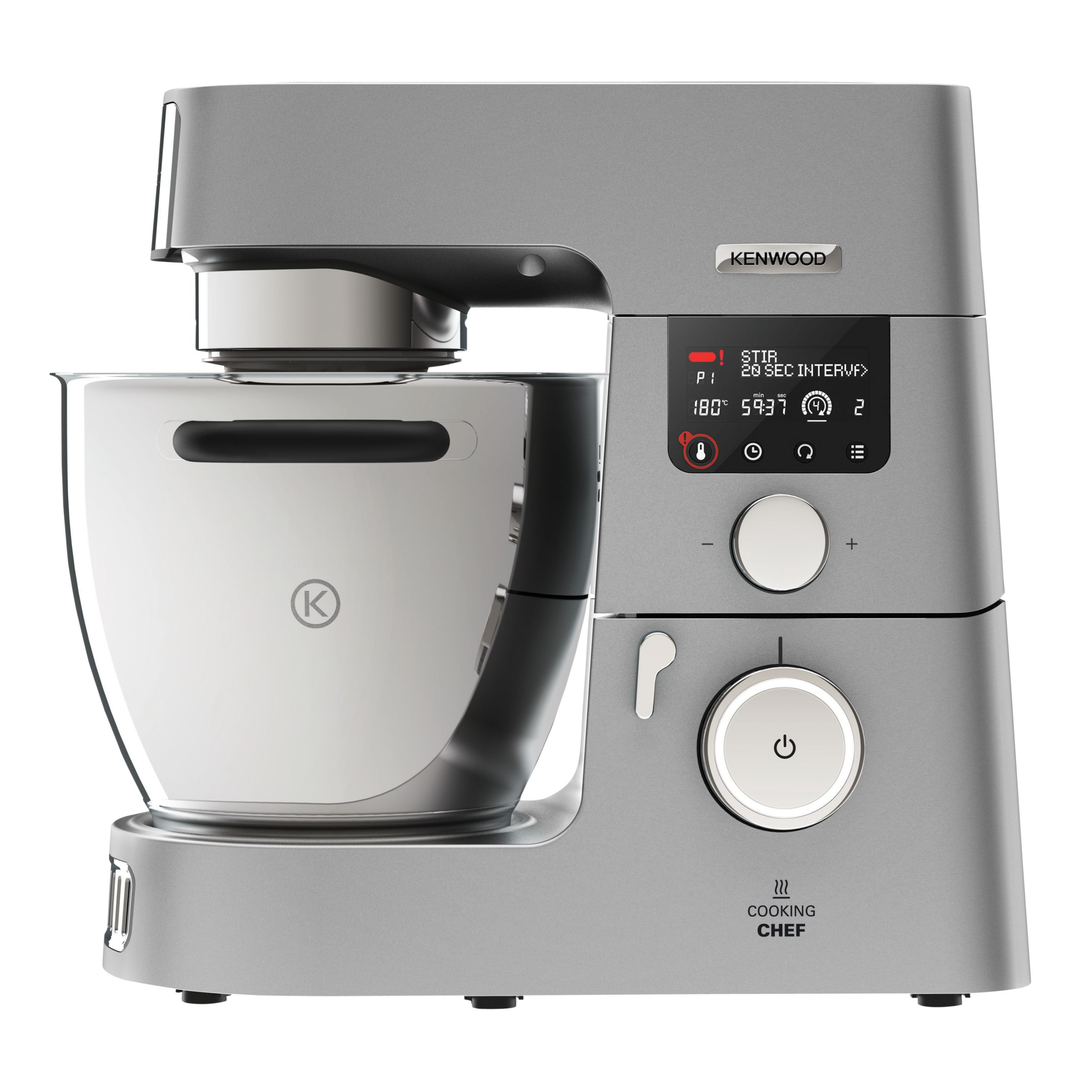 Kenwood KCC9060S Cooking Chef Stand Mixer, Silver