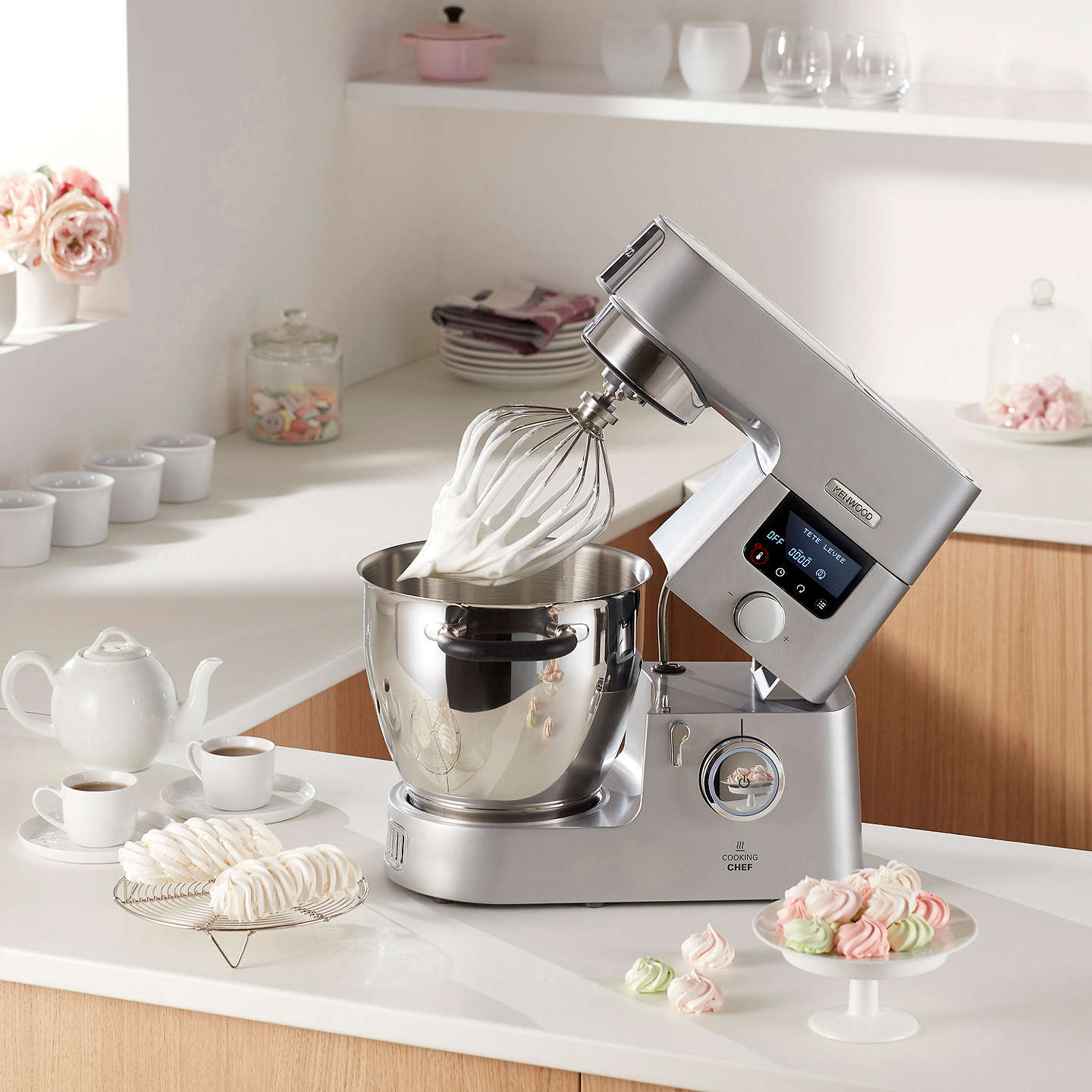 Kenwood kcc9060s cooking chef stand mixer silver at john lewis buykenwood kcc9060s cooking chef stand mixer silver online at johnlewis forumfinder Gallery