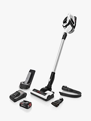 Bosch Unlimited BCS122GB Cordless Upright Vacuum Cleaner, White