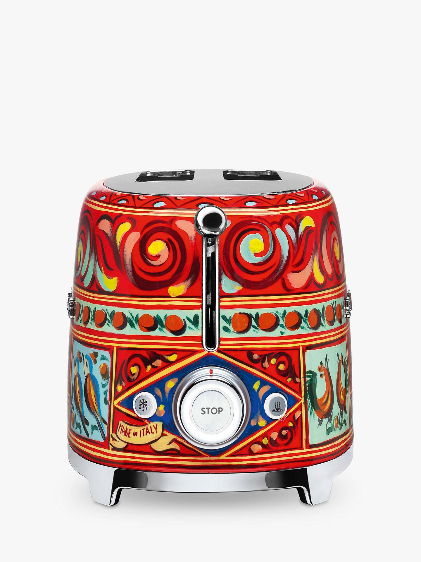 8d496648ee ... Buy Smeg Dolce & Gabbana 2-Slice Toaster Online at johnlewis. ...