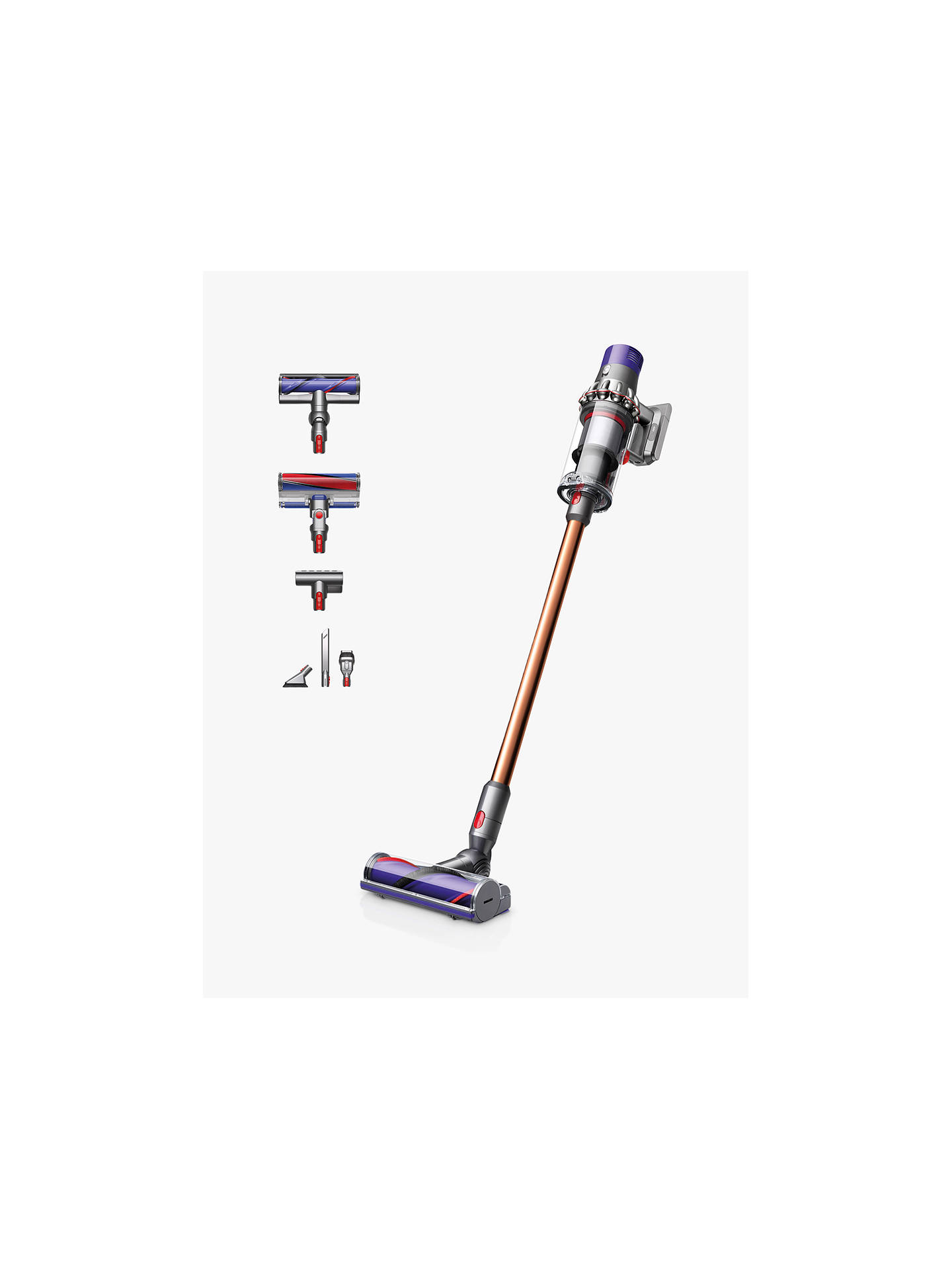 Dyson Cyclone V10 Absolute Cordless Vacuum Cleaner Gold At John