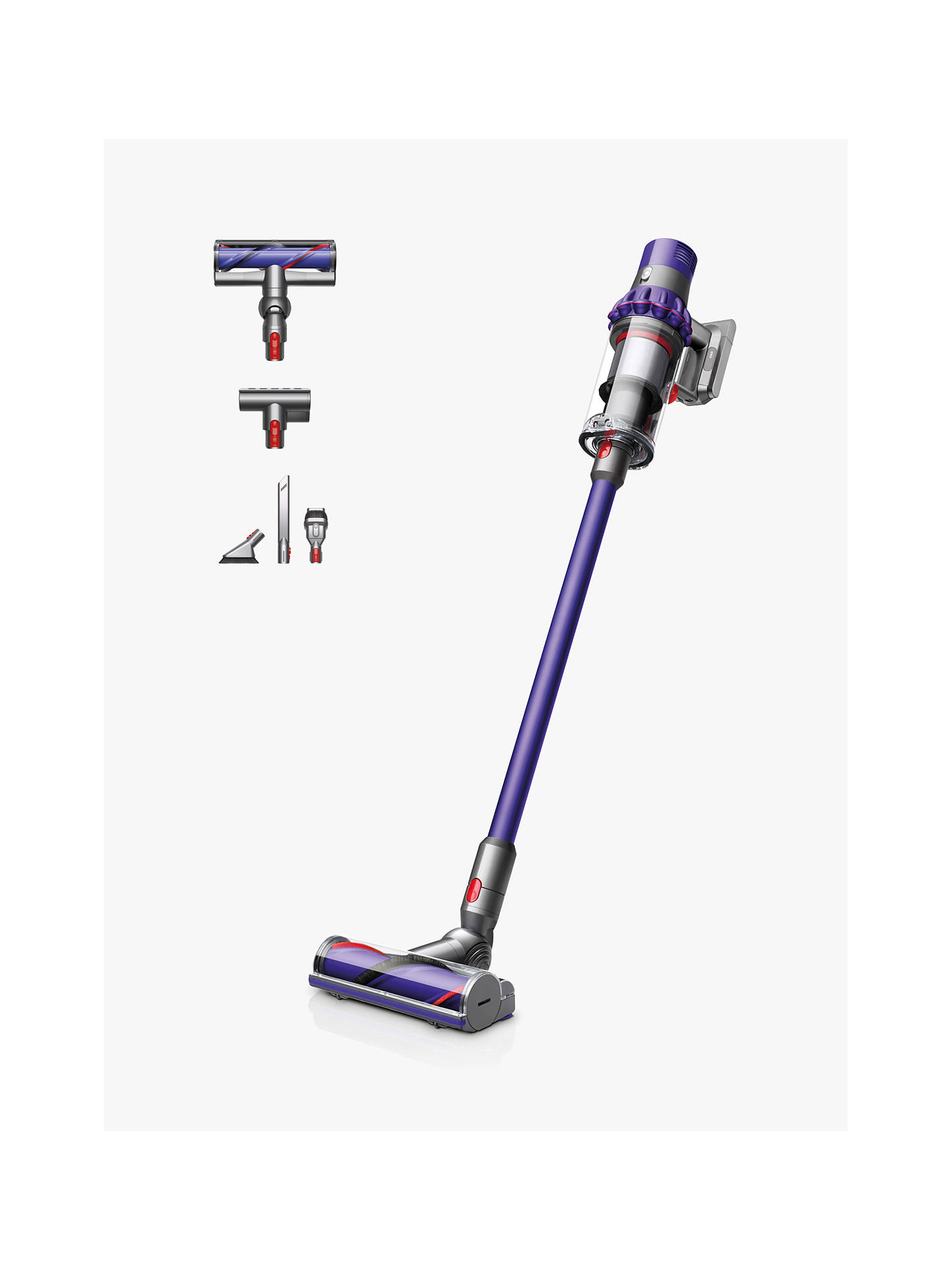 Dyson Cyclone V10 Animal Cordless Vacuum Cleaner, Purple