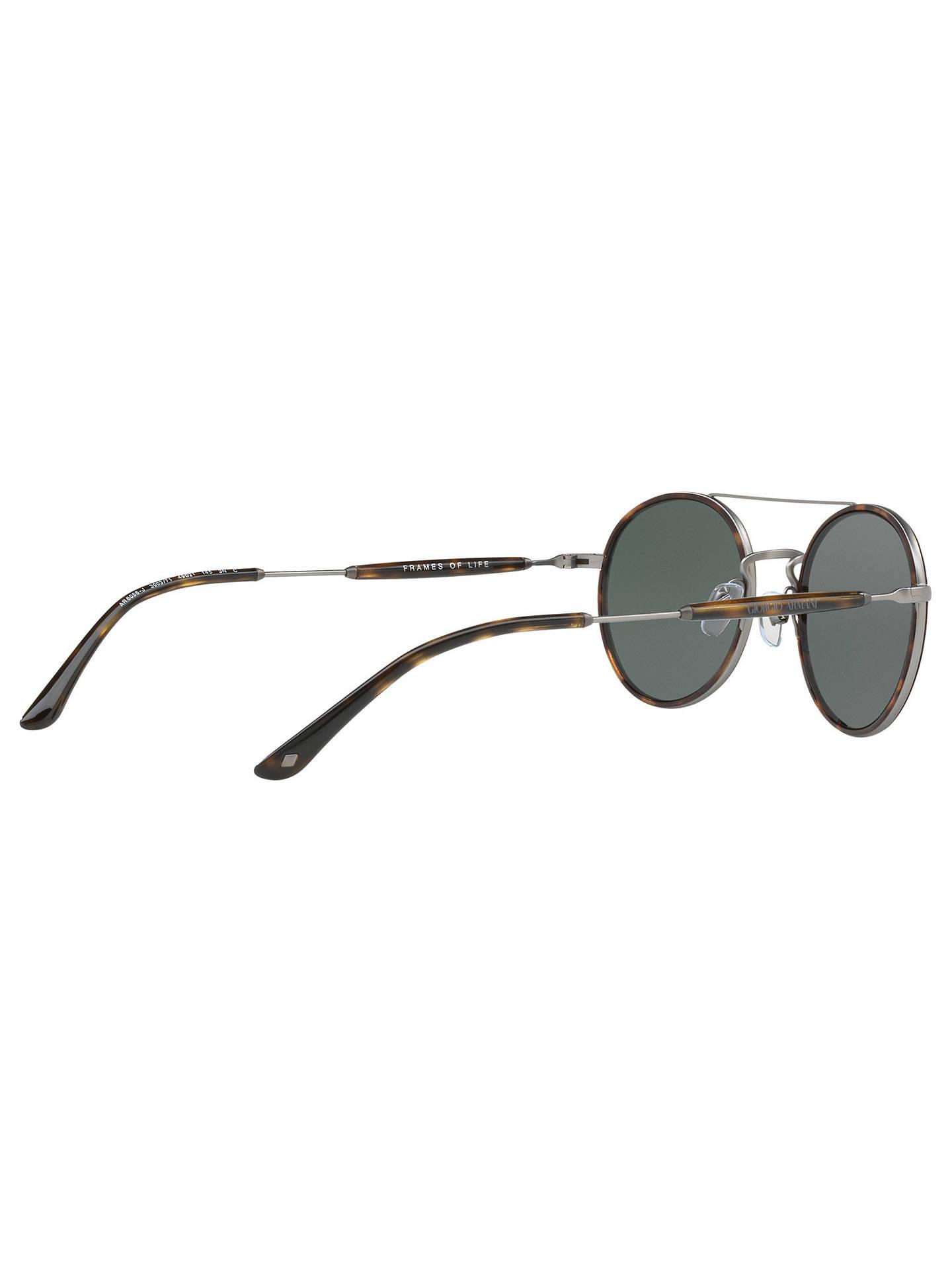Giorgio Armani AR6056J Men\'s Frames of Life Round Sunglasses at John ...