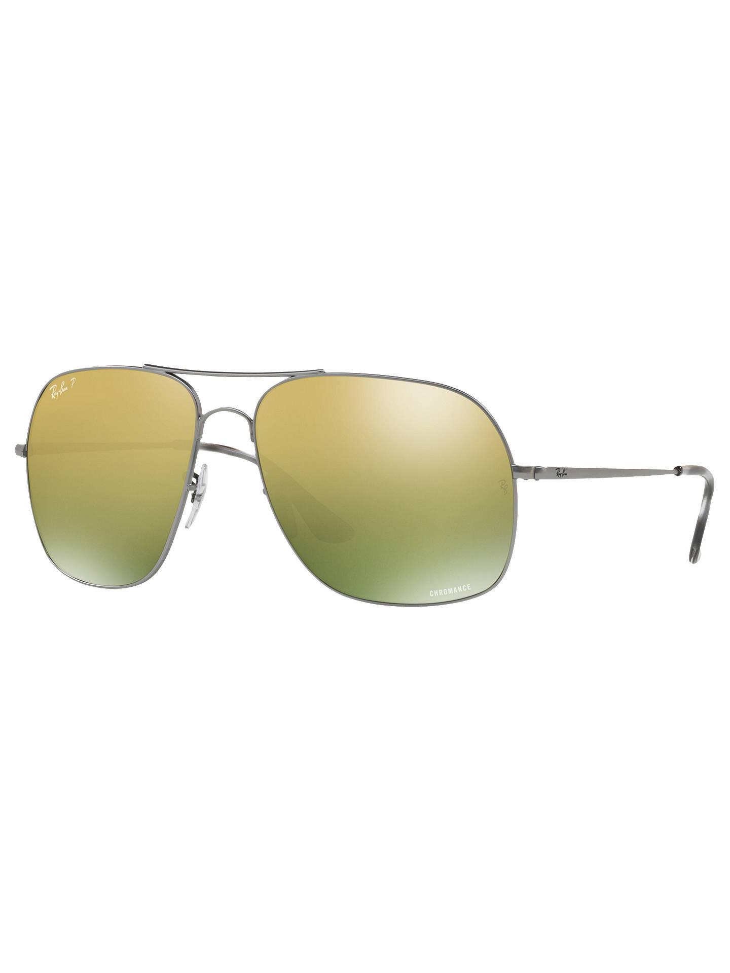 4d892c7ef1 BuyRay-Ban RB3587CH Men s Chromance Polarised Square Sunglasses