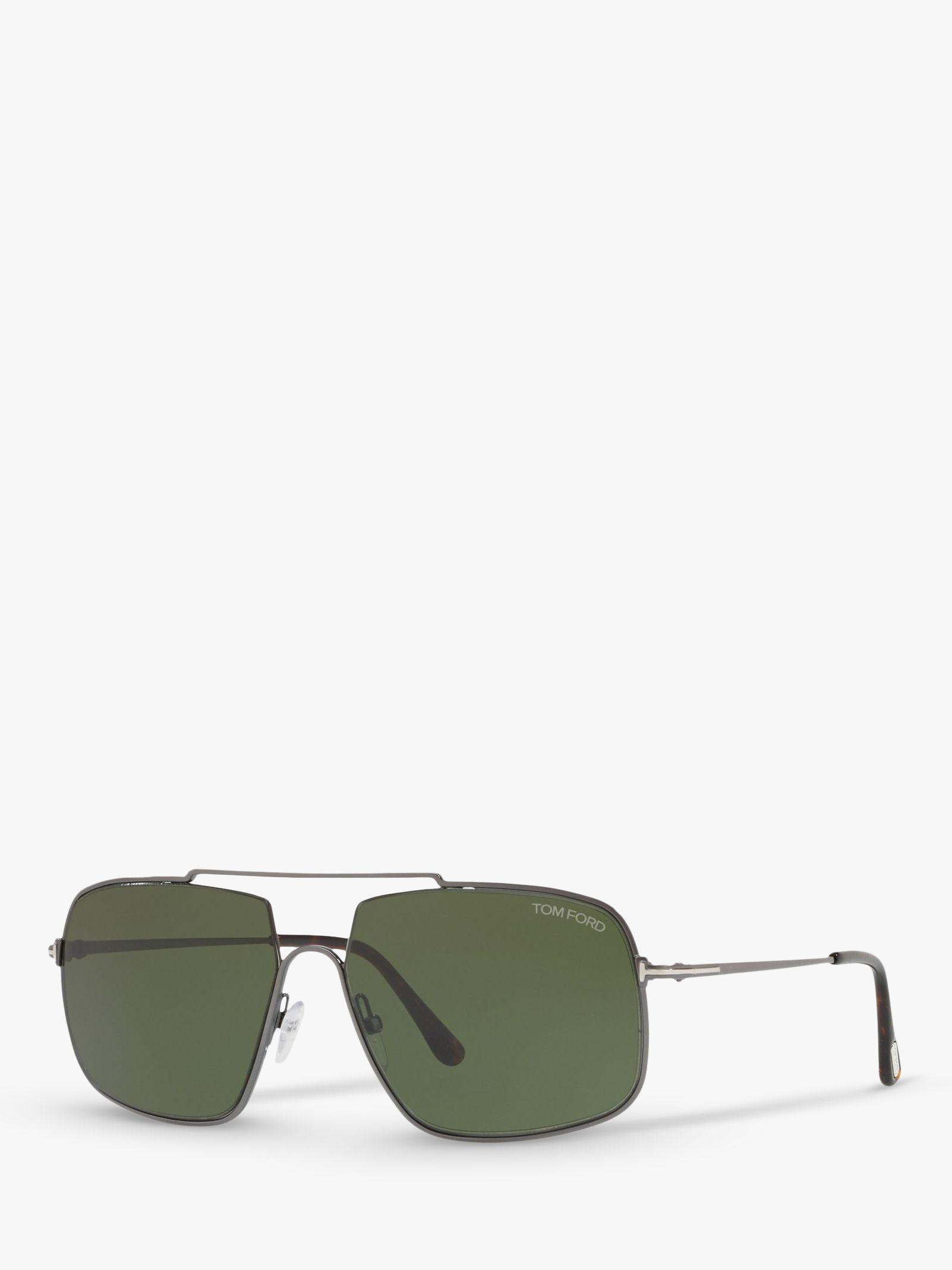 Tom Ford TOM FORD FT0585 Men's Aiden-02 Rectangular Sunglasses