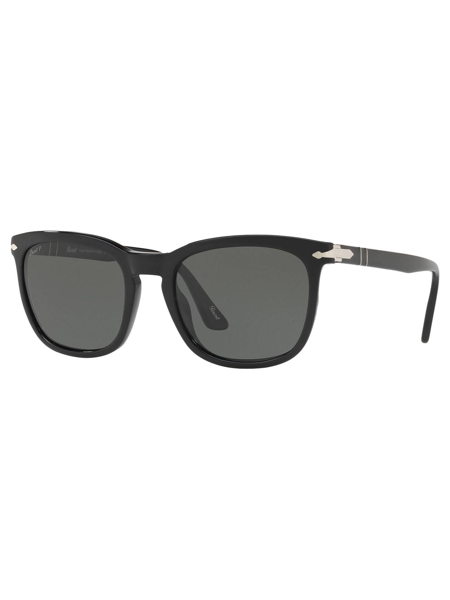 e333b3467c4 Persol PO3193S Men s D-Frame Sunglasses at John Lewis   Partners