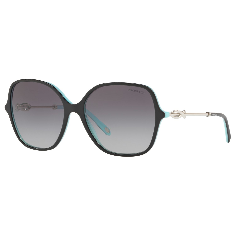 Tiffany & Co Tiffany & Co TF4145B Square Sunglasses, Black/Grey Gradient