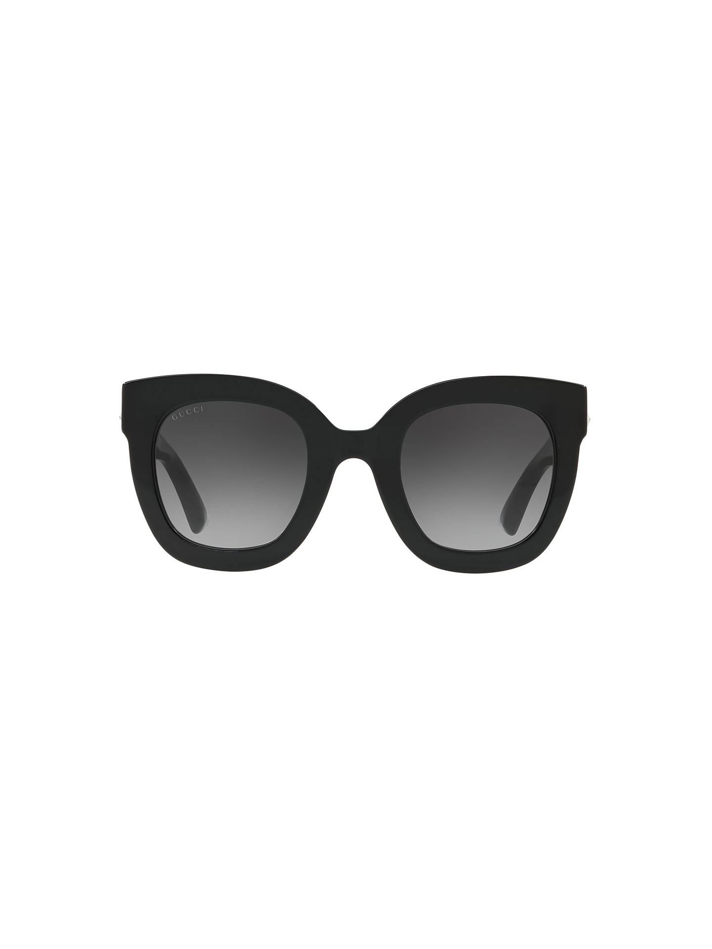 c01e7d9b35a Gucci GG0208S Statement Oval Sunglasses at John Lewis   Partners