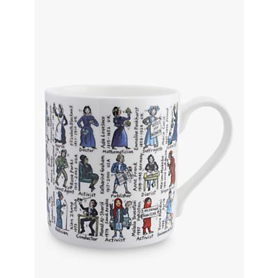 Image of McLaggan Smith Women Who Changed The World Mug, 350ml