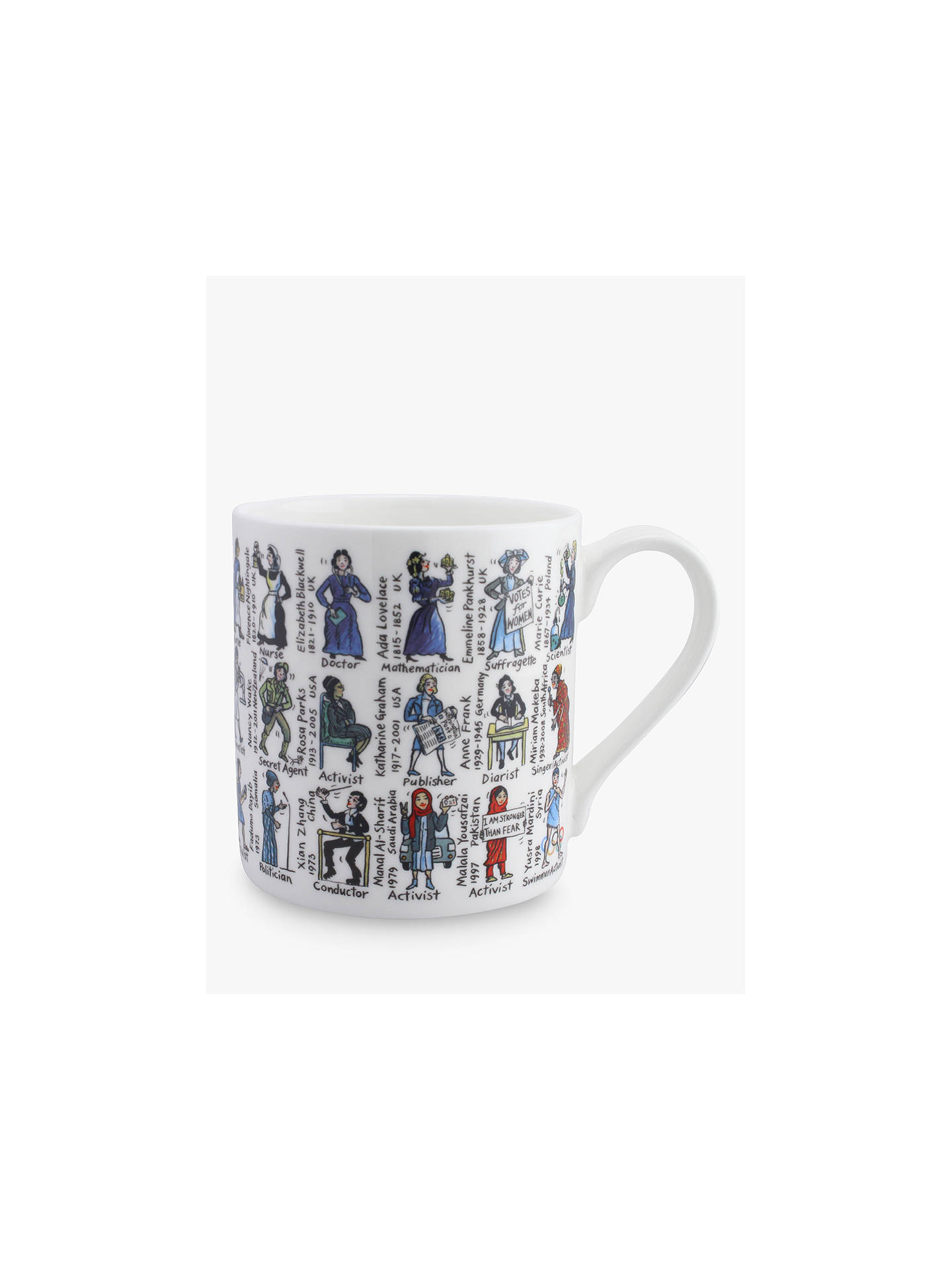 ef884e675a60 Buy McLaggan Smith Women Who Changed The World Mug, 350ml Online at  johnlewis.com ...