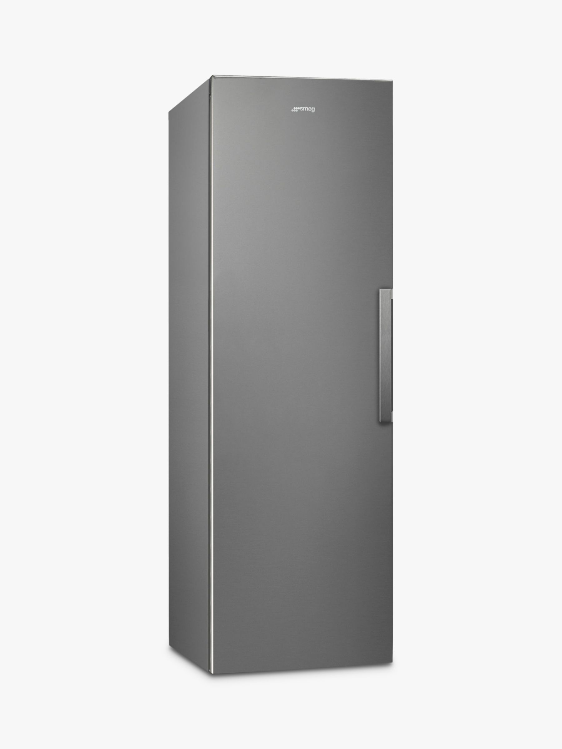 Smeg Smeg UK26PXNF4 Tall Freestanding Freezer, A+ Energy Rating, 60cm Wide, Silver