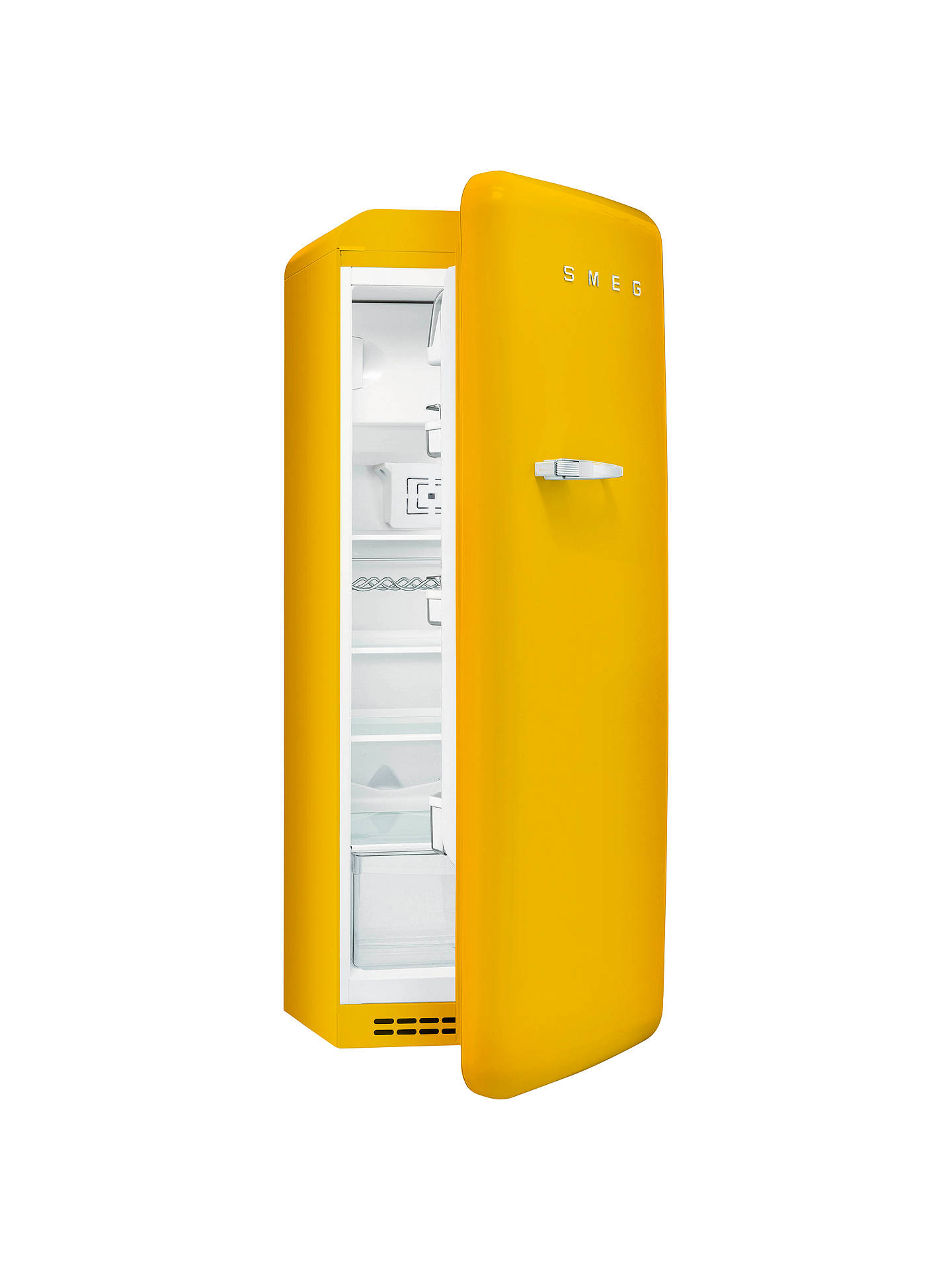 Smeg Fab28qg1 Fridge With Freezer Compartment A Energy Rating 60cm Wide Right