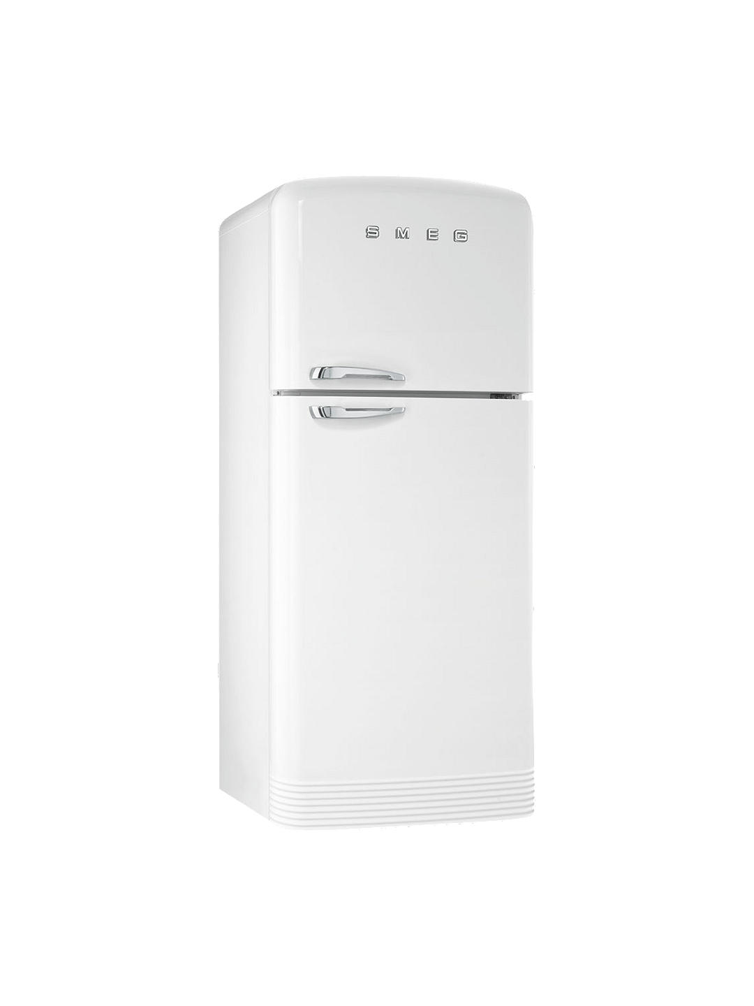Buy Smeg FAB50R Freestanding 70/30 Fridge Freezer, A++ Energy Rating, Right-Hand Hinge, 80cm Wide, White Online at johnlewis.com