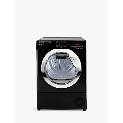 Image of Hoover Aqua Vision DXC10TCEB-80 10kg Condenser Dryer in Black B Rated