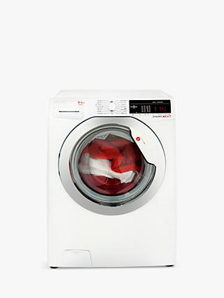 Hoover Dynamic Next Advanced WDXOA 485C Freestanding Washer Dryer with NFC, 8kg Wash/5kg Dry Load, A Energy Rating, 1400rpm Spin, White