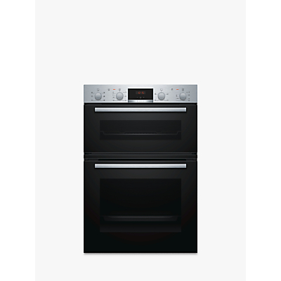 Image of Bosch MBS133BR0B Built-In Double Oven, Stainless Steel