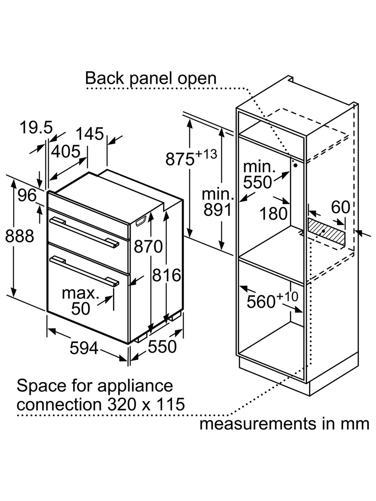 Bosch Fan Forced Oven Symbols