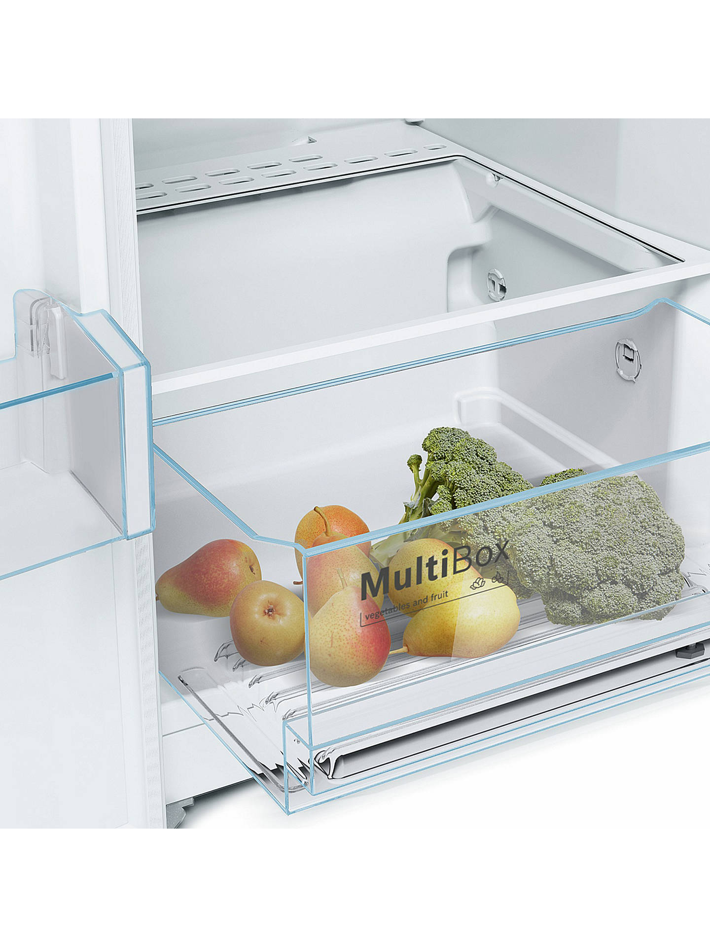 BuyBosch KSV36NW3PG Freestanding Tall Larder Fridge, A++ Energy Rating, 60cm Wide, White Online at johnlewis.com